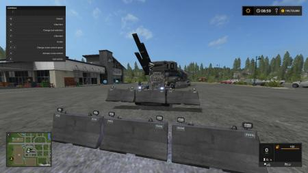 ANIMATED CONCRETE BARRIERS BY LAMBO V1