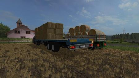 HOMEMADE BALES TRAILER V1.0