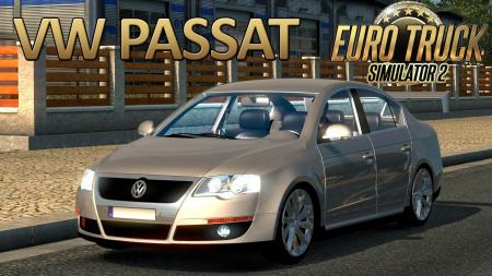 Volkswagen Passat B6 + Interior v1.8 (Updated) (1.27.x)