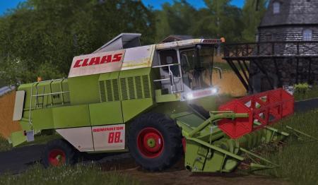 Claas Dominator 88s V1