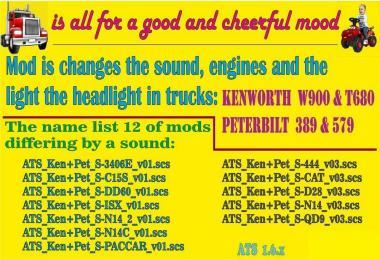 MODS FOR PETERBILT AND KENWORTH