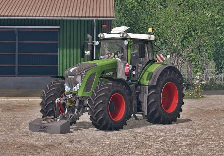 FENDT 927 VARIO WASHABLE