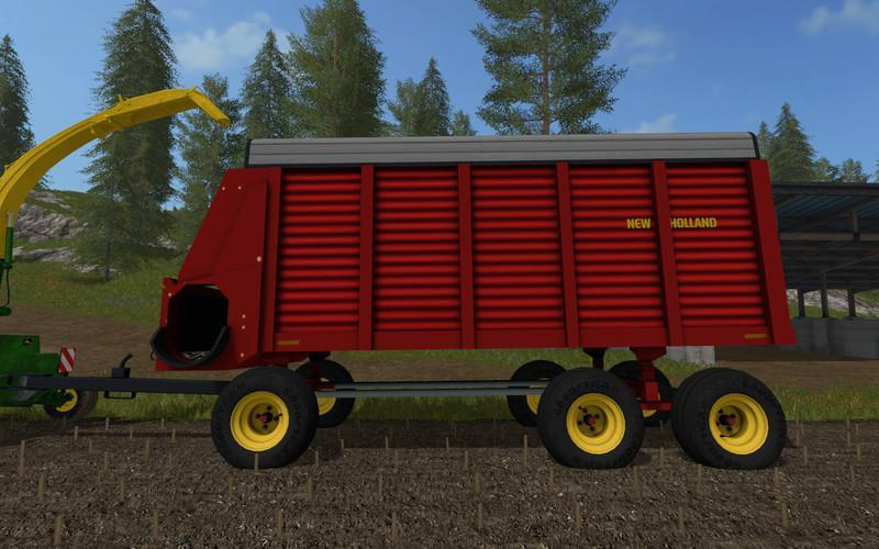 NEW HOLLAND FORAGE WAGON V1 0 » GamesMods net - FS19, FS17, ETS 2 mods