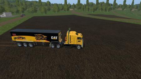 FS17 CATKENWORTH K100 AND TRAILER V1.1