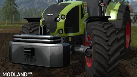 CLAAS Weight Pack v 1.2