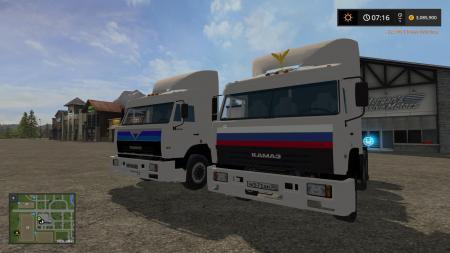 PACK KAMAZ 54115 V4.0