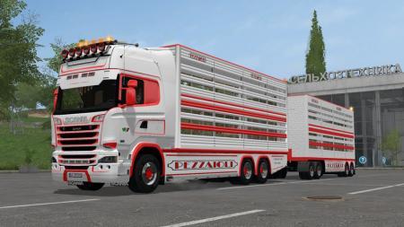 Scania R730 Tiertransporte V 2.2