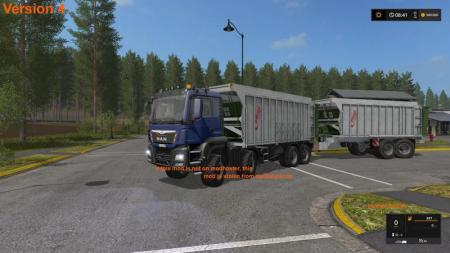 MAN TGS WITH FLIEGL EXTENSION V5.0
