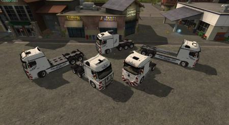 MERCEDES ACTROS MP4 PACK