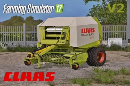 CLAAS ROLLANT 250 ROTOCUT V2