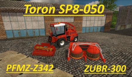 Toron SP8-050 + adaptéry (1.0.0)