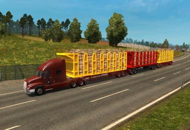 TRAFFIC DOUBLE TRIPLE TRAILERS ETS2 1.27.X