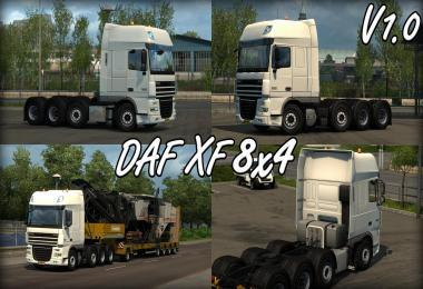 DAF XF 8X4 CHASSIS BY CRAZYGIJS
