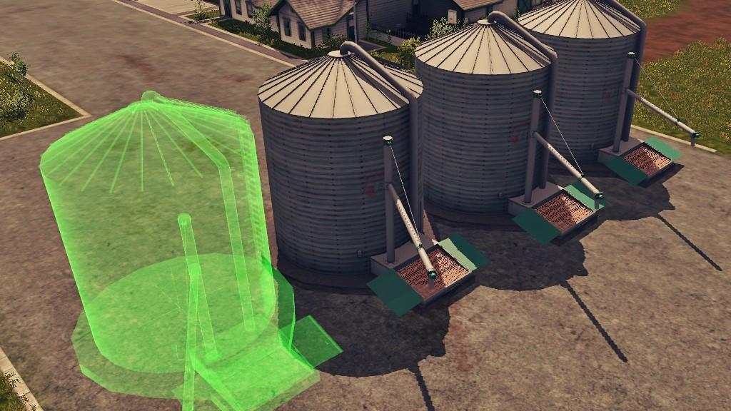 Grains Storage Silo Placeable 187 Gamesmods Net Fs19 Fs17
