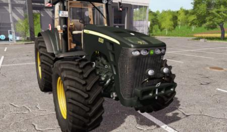 John Deere 8330 black limited