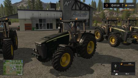 JD 8030 SERIES BLACK V1.0