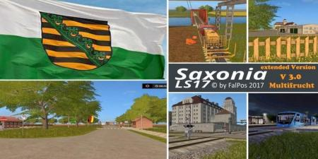 SAXONY FOR LS17 V3.0 EXTENDED FINAL