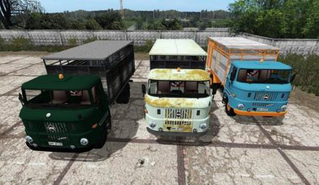 IFA W50 ANIMAL TRANSPORT V3