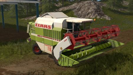 Claas Dominator 118 SL