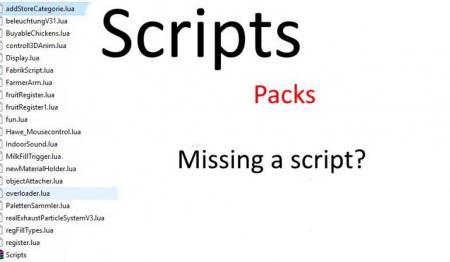 FS17 LUA SCRIPT PACK V1.0