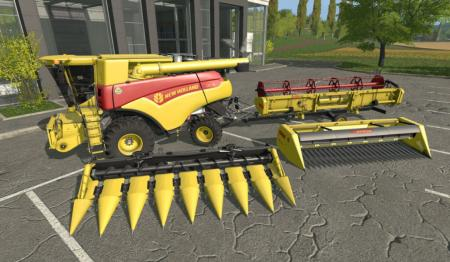 New Holland CR 7.90 120 jahre Pack