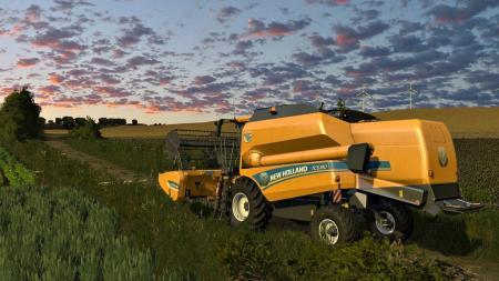 New Holland TC5 / TC5000 And Headers V1.0.0.0