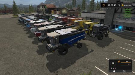 COMBINE AND CUTTER PACK BY STEVIE