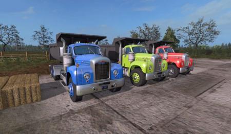 Mack B-61 Dump Truck v 1.0.0.5 Multicolor