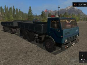 KamAZ-5320 and trailer Nefaz-8560 version 2