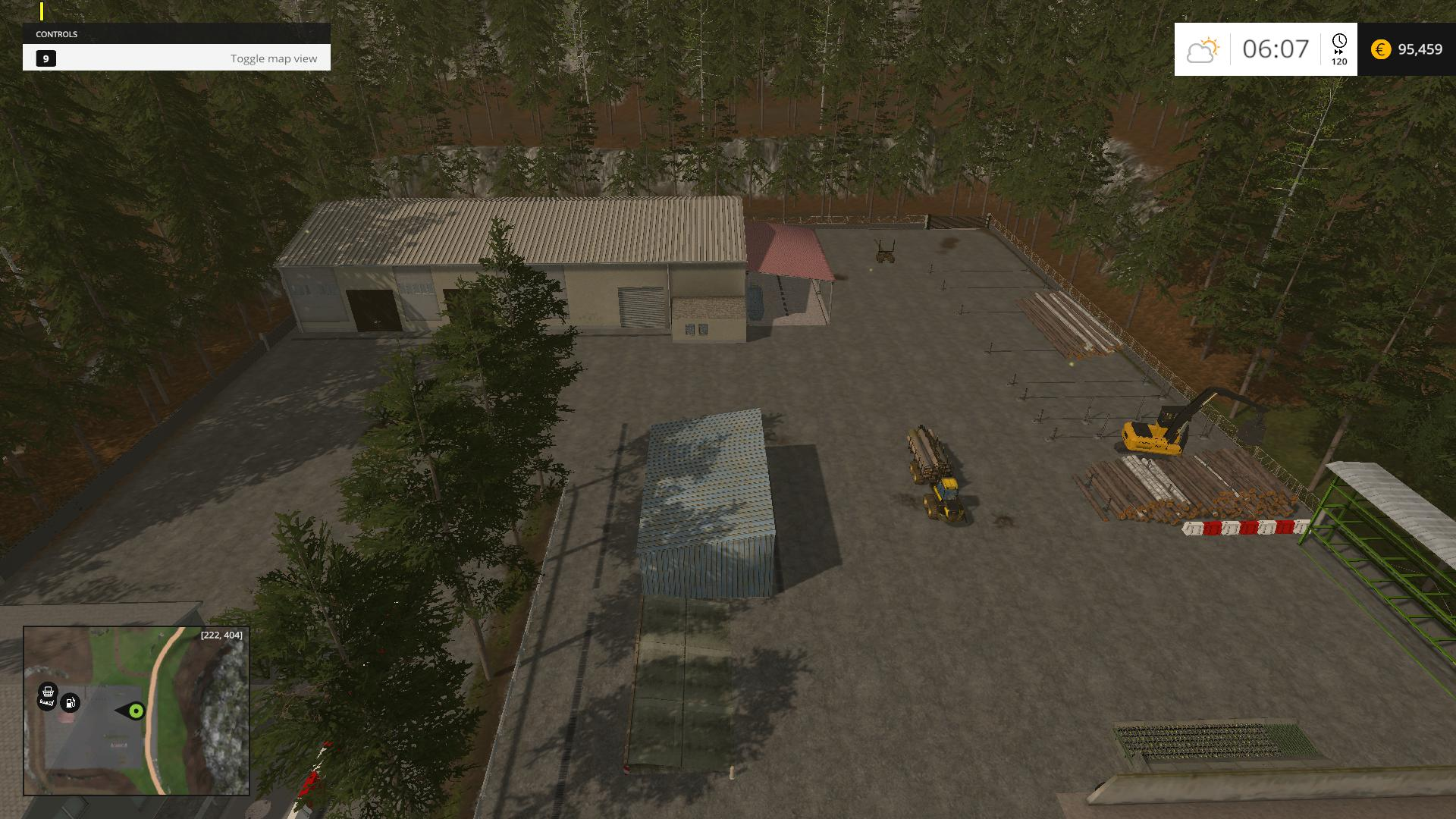 Rock and River Wood map v1.1 » GamesMods.net - FS19, FS17 ...