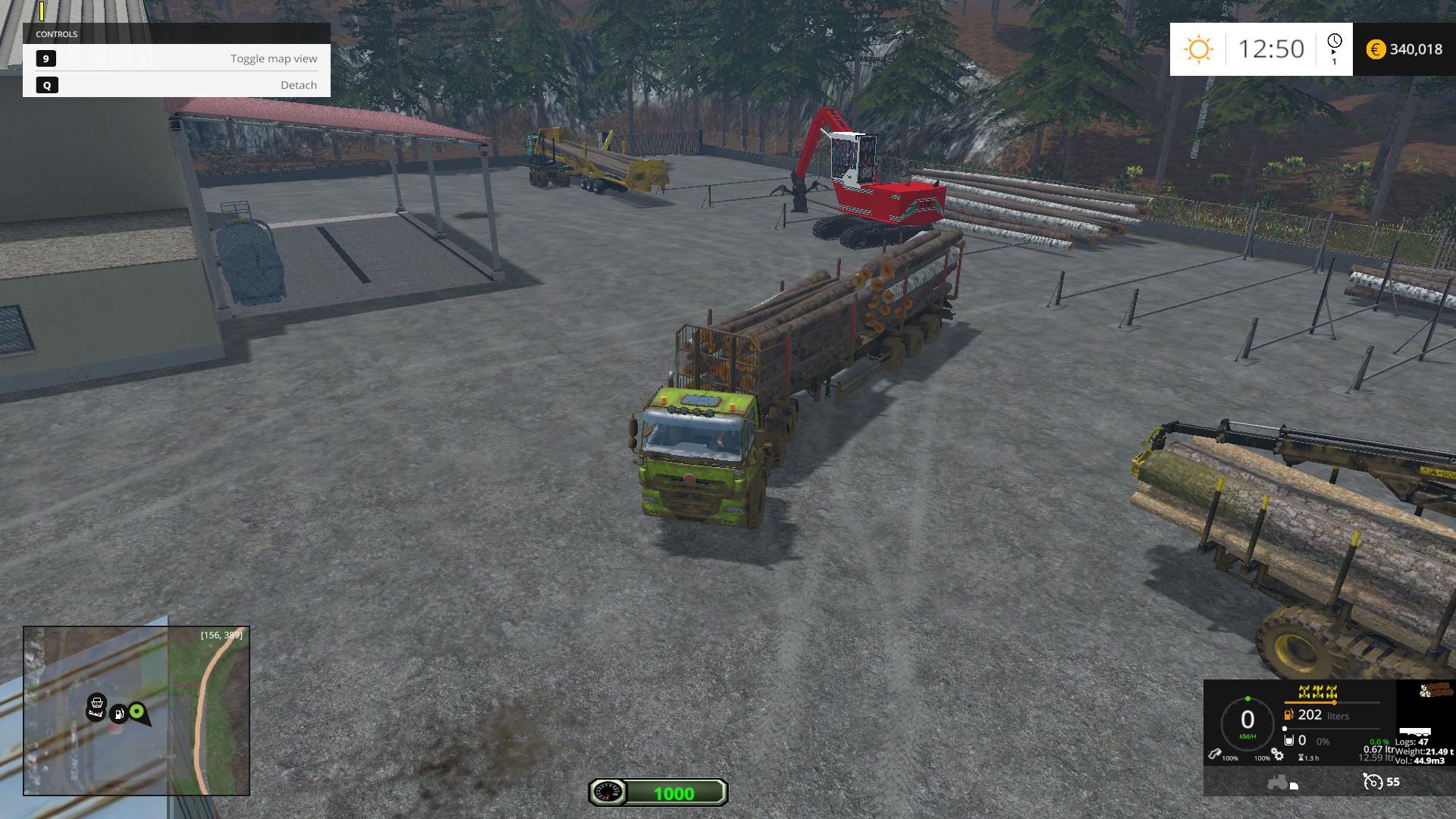 Reversing Camera for Truck v1 2 » GamesMods net - FS19, FS17