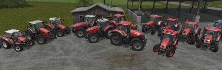 TRACTORS WITH NOKIAN TIRES CONFIGURATION