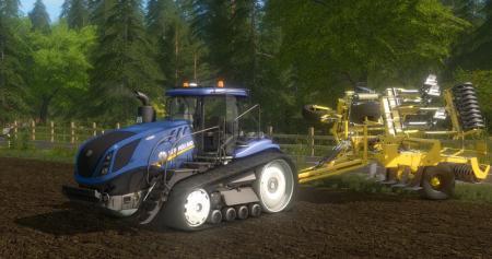 Unofficial New Holland T7 315 TT V 1.15