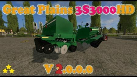 GREAT PLAINS 3S3000HD V2.0
