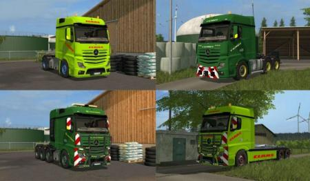 MERCEDES BENZ ACTROS PACK