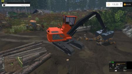 Wood Shovel Loader V 1.0