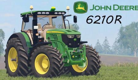 JOHN DEERE 6210R