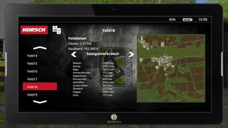 FarmingTablet - App: Horsch Management