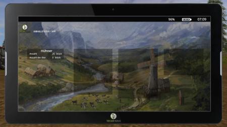 FarmingTablet - App: Animalstatus