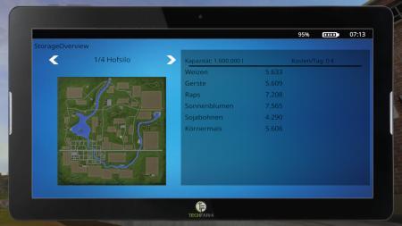 FarmingTablet - App: StorageOverview