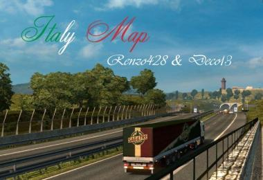 MAP OF ITALY [1.28.X]