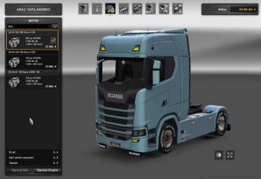 Scania Engines update