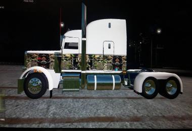 PETERBILT 388 WHITE CAMO V1.0