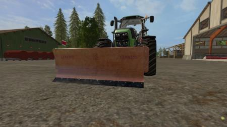 RASCO SNOW PLOW FOR SEASONSMOD