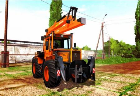 MB TRAC 1000 TURBO FOREST EDITION V1.0