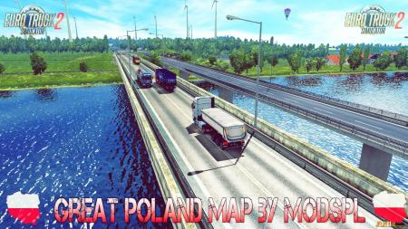 Great Poland Map v1.2.1 by ModsPL (1.28.x)