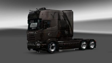 Skin Monstry for Scania RS Longline
