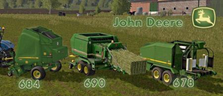 JOHN DEERE BALERS PACK (684/690/678)