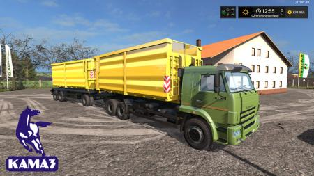 KamAZ-658667 with the trailer T83090