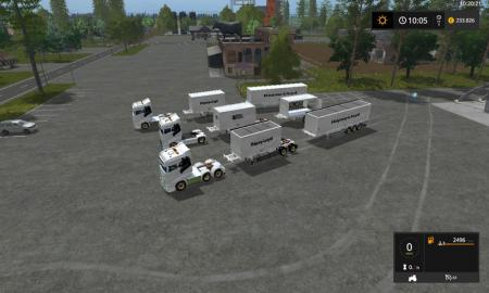 Container Pack by EastSide V 0.1